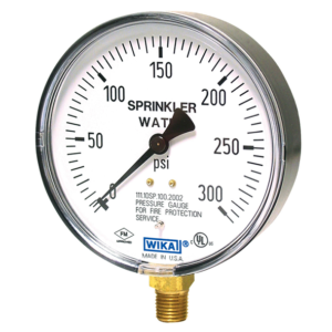 Đồng hồ đo áp suất Wika Model 111.10SP
