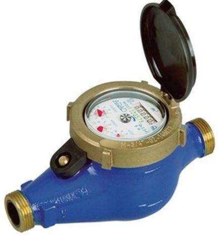 Đồng hồ nước lắp ngang bằng gang nối ren