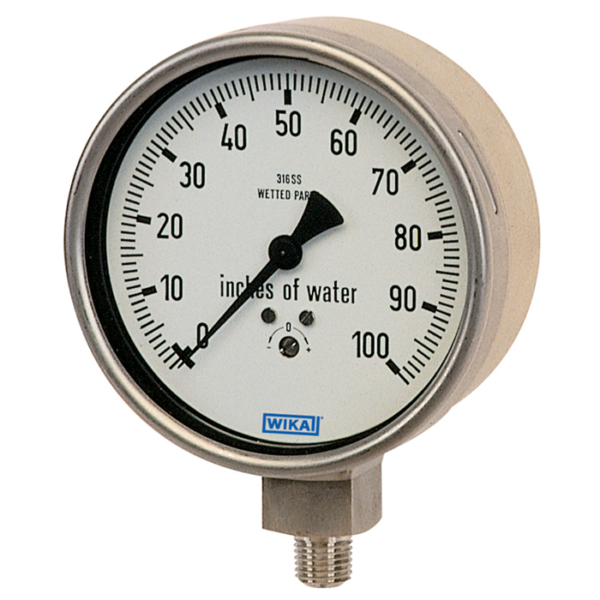 Đồng hồ đo áp suất Wika model 632.50