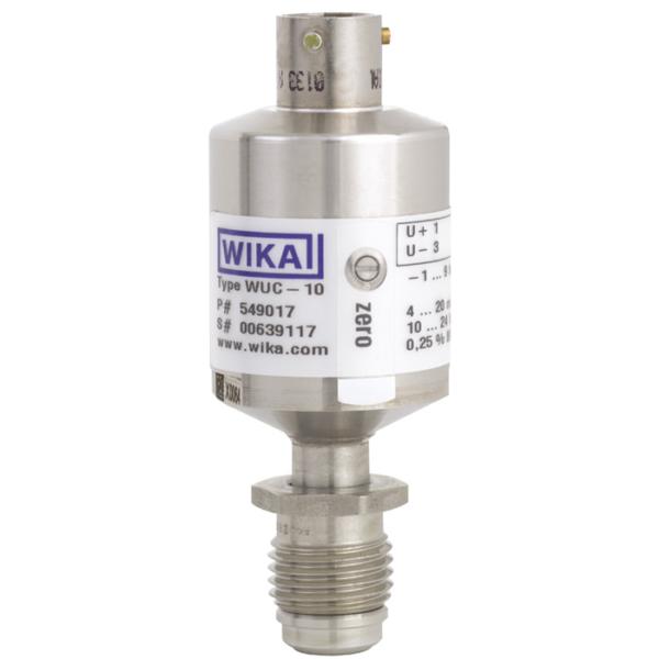 Cảm biến áp suất wika model WUC-10, WUC-15, WUC-16